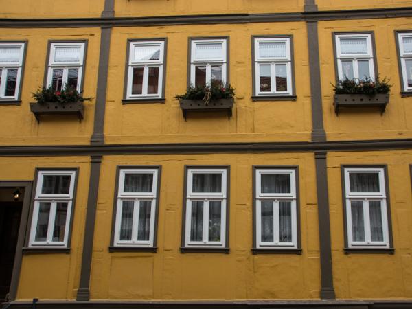 Fachwerk im Klassizismus, Haus in der Rittergasse 4