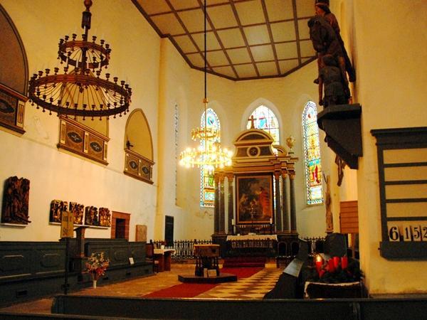 Altarraum der St. Martini Kirche Stolberg Harz