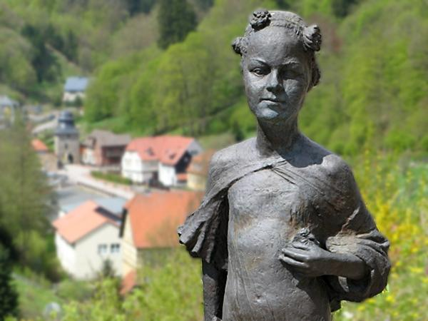 Denkmal für die Stolberger Prinzessin Juliane, die Begründerin des niederländischen Königshauses