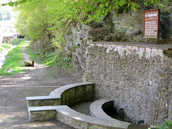 Klingelbrunnen in Stolberg Harz