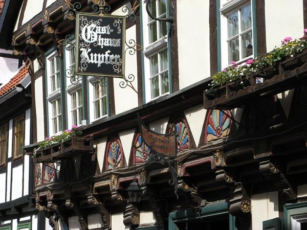 Fachwerk in der Renaissance, Gasthaus Kupfer