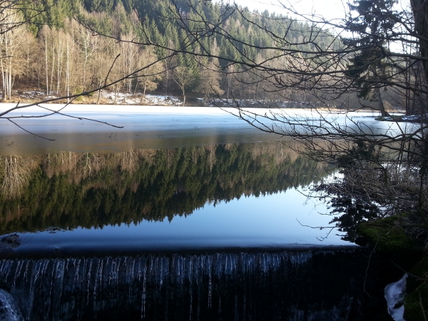 Maliniusteich, als Teil des Teich- und Grabensystems für den Bergbau