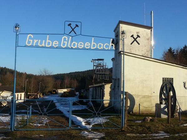 Schauberkwerk Grube Glasebach Eingang