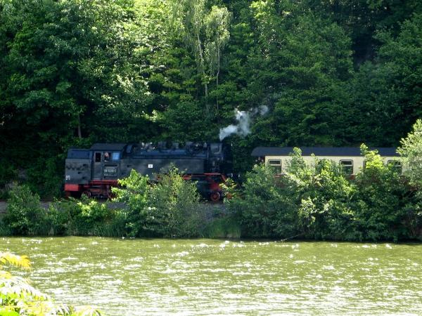 Harzquerbahn am Bergsee