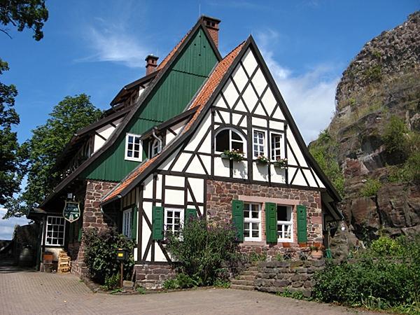 Burggasthof Ruine Hohnstein