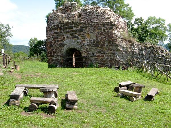 Rastplatz auf dem Burggelände