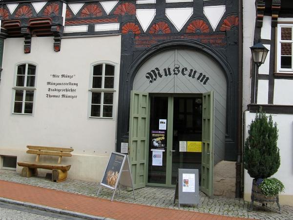 Eingang zum Museum Alte Münze