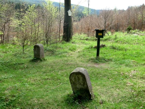 Dreiherrensteine mit Stempelstelle für die Harzer Wandernadel