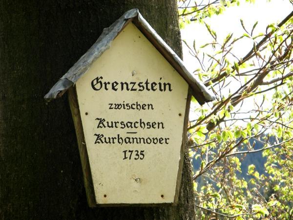 Grenzsteine der ehemaligen Kurfürstentümer